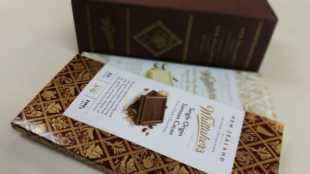 whittakers brand of chocolate in new zealand essay The new milk chocolate was introduced to the british market in  australians prefer creamier milk chocolate, with the cadbury dairy milk brand being the market.