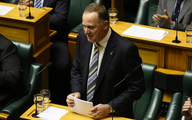 John Key responds to the Labour Party's Budget reply speech.