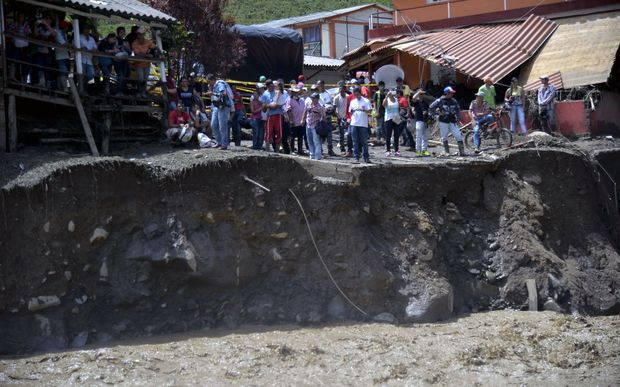 The mudslide killed at least 78 people.