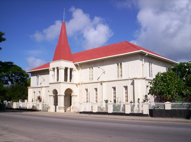 Parliament buildings in Nuku'alofa