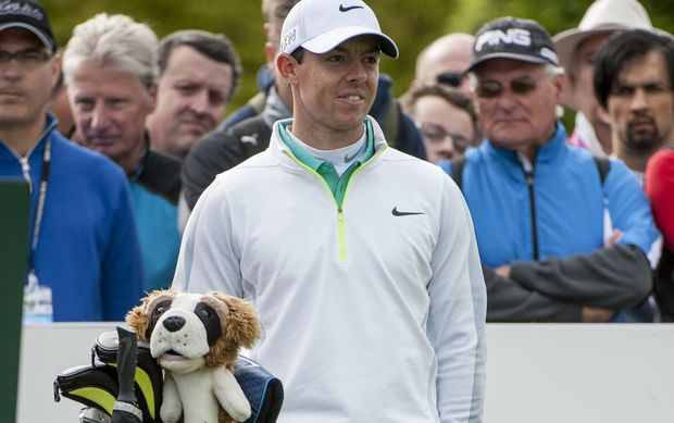 World golf number one Rory McIIroy