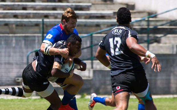 Fiji beat Namibia to finish fifth at the World Rugby Under 20 Trophy in Lisbon.