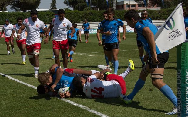 Tonga lost to Uruguay to finish fourth at the World Rugby Under 20 Trophy in Lisbon.