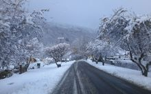 Mid-morning in Arrowtown. 25 May2015