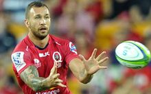 The Queensland Reds' first-five Quade Cooper.