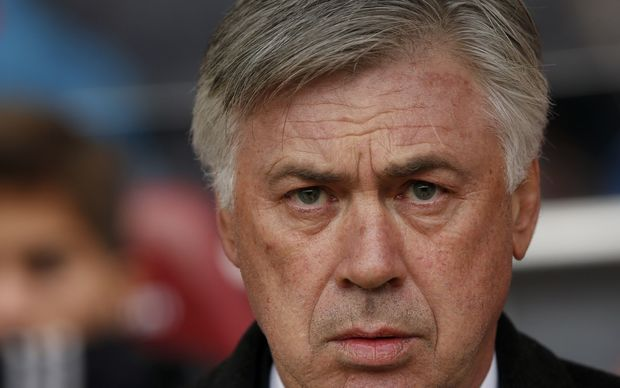 The now former Real Madrid football coach Carlo Ancelotti.