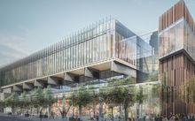 An artist's impression of the scaled down design agreed for Auckland's SkyCity convention centre.
