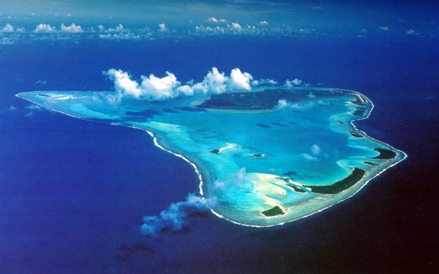 Google Map Of The Cook Islands