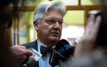 United Future Leader, Peter Dunne.