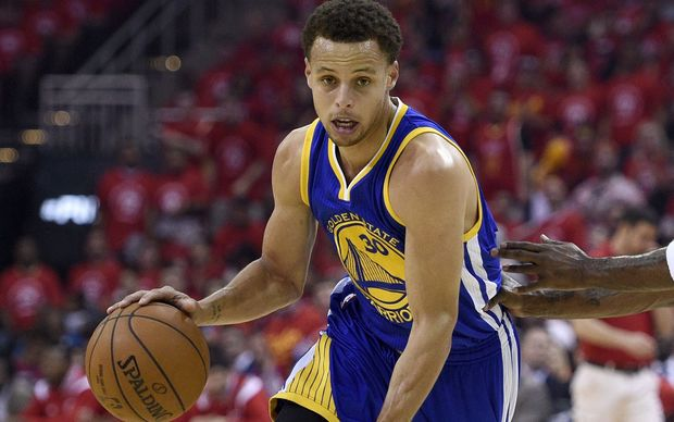 Golden State Warriors Stephen Curry top scored for his side to lead them into the NBA finals.
