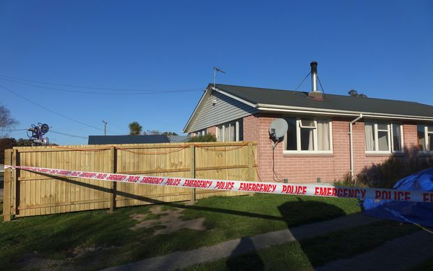 The home of Leon Jayet-Cole who died today after being rushed to hospital with head injuries.