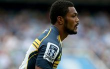 The Brumbies and Wallabies winger Henry Speight in Super Rugby action.