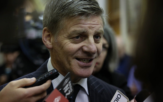 National MP, Bill English.