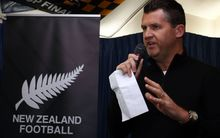 New Zealand Football chief executive Andy Martin.