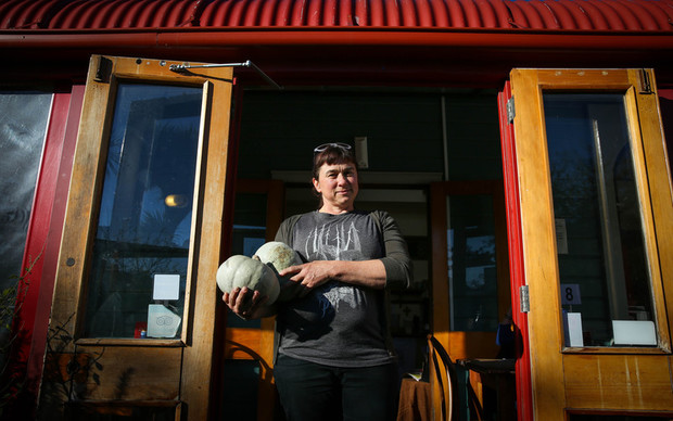 Red Verandah Cafe owner, Amanda Heasley.