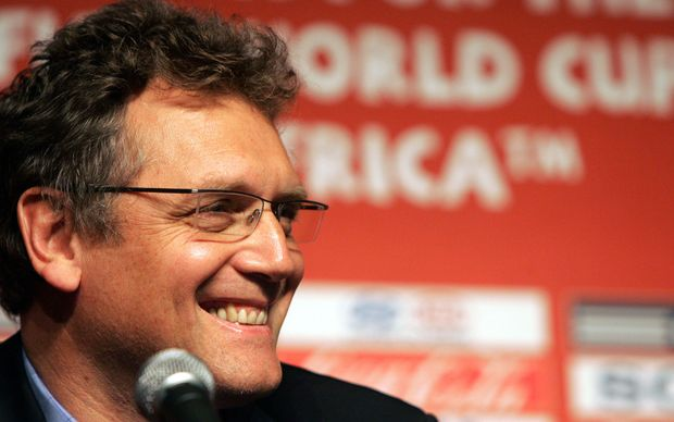 The FIFA secretary general Jerome Valcke.