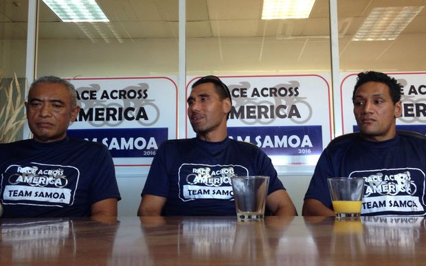 Samoa is entering a team in the Race Across America for the first time.