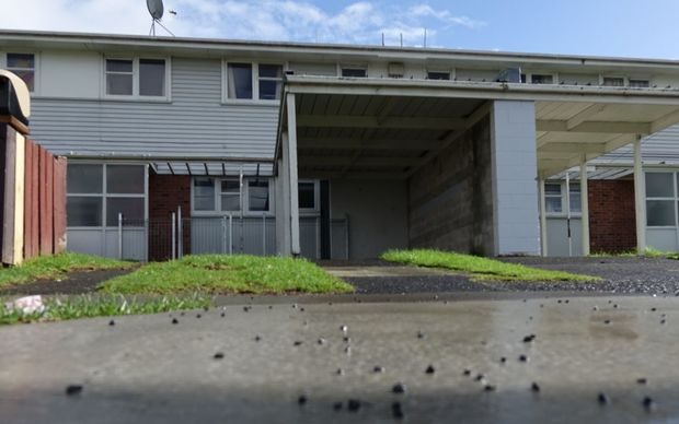 The Housing NZ property in Otara.