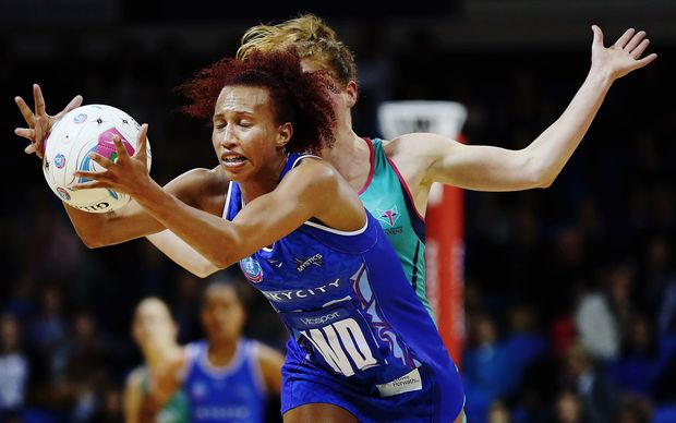 Mystics mid-courter Serena Guthrie has been named the ANZ Championship's Best New Talent.