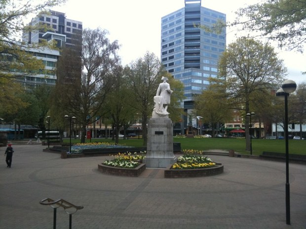 Victoria Square in 2009 (file photo).