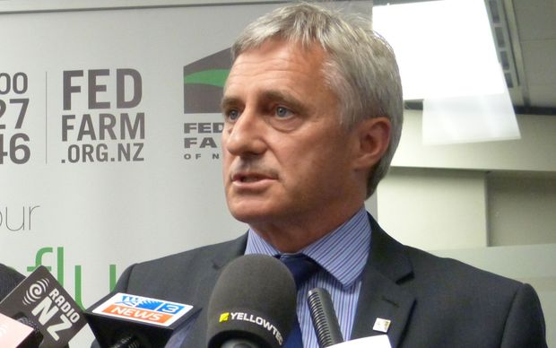 Federated Farmers president William Rolleston.