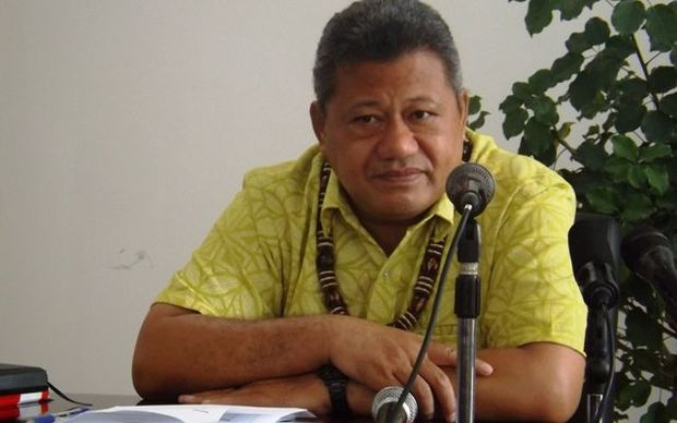 Samoa's Ministry of Health Director General and CEO, Leausa Dr Take Naseri
