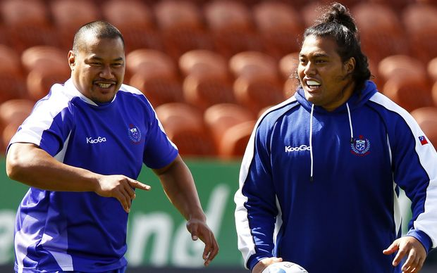 Manu Samoa front-rowers Ti'i Paulo and Census Johnston have retired from international rugby.