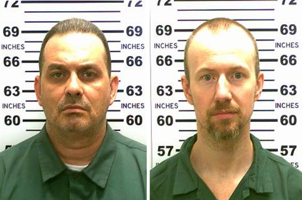 Convicted murderers Richard Matt, left, and David Sweat used power tools to escape the Clinton Correctional Facility.