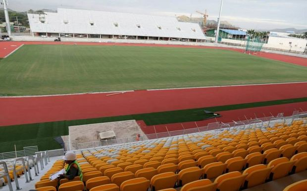 The Sir John Guise Stadium will host the 2015 Pacific Games opening and closing ceremonies.