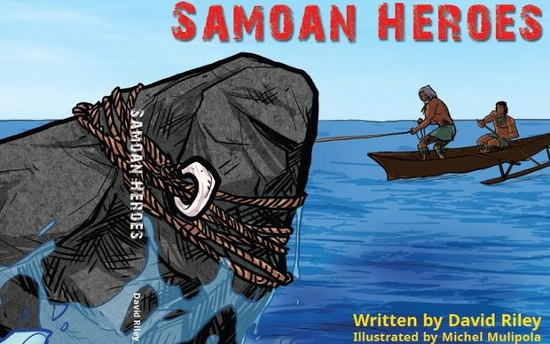 'Samoan Heroes' book by David Riley