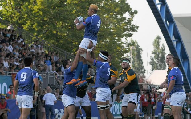 Samoa were no match for South Africa at the World Rugby U20 Championship.