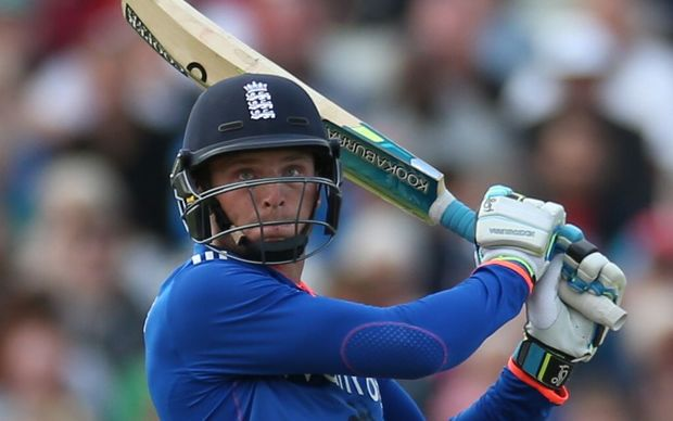 Jos Butler was in belligerent form for England with the bat.