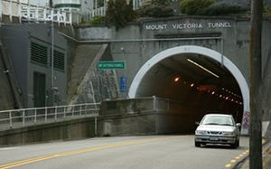 Mount Victoria Tunnel.