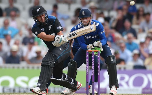 Ross Taylor during his century at The Oval.