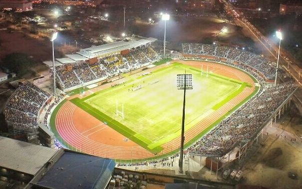 The annual Prime Minister's rugby league clash between Australia and Papua New Guinea will be held at Sir John Guise Stadium in Port Moresby, which also hosted the Pacific Games.