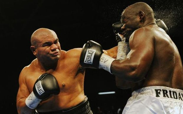 Samoan Boxing star, David Tua