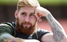 Former Warriors fullback Sam Tomkins.