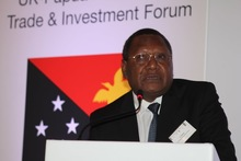 Governor of Papua New Guinea's Central Bank, Loi Bakani.