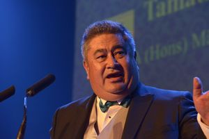 Tamati Kruger was recognised this week at the Victoria University's Distinguished Alumni Awards.