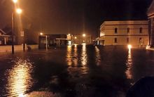 Flooding in Hokitika