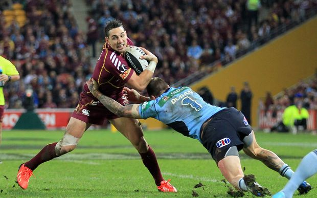 Queensland rugby league player Billy Slater.