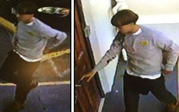 Security camera footage handout released by the Charleston (South Carolina) Police Department following the shooting.