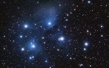 Matariki is the name for the cluster of stars known as the Pleiades. When it rises in the north-eastern skies in late May or early June, it signals to Māori that the New Year will begin.