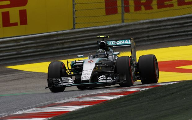 Nico Rosberg in action in Austria