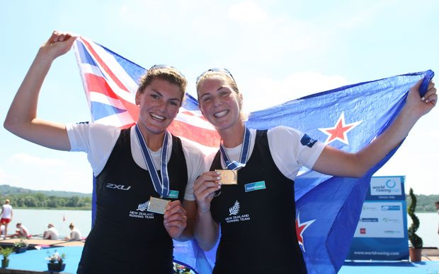 Zoe Stevenson and Eve Macfarlane.