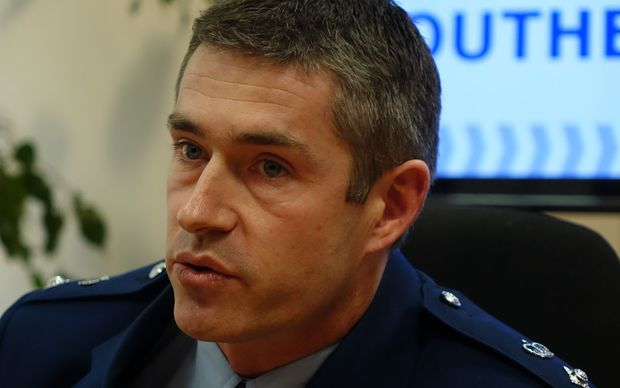 Police Southern District Commander Andrew Coster.