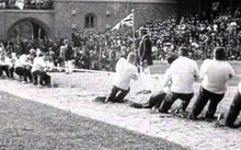 Great Britain Defeat Sweden at the Stockholm Olympics in 1912.
