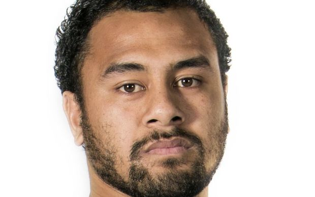 Tongan rugby player Telusa Veainu.