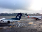 Wellington Airport after a radar fault grounded planes on 23 June 2015.