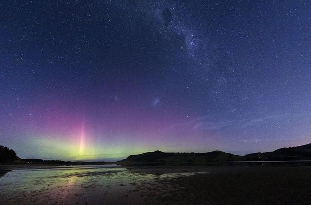 The Aurora over Hoopers Inlet.